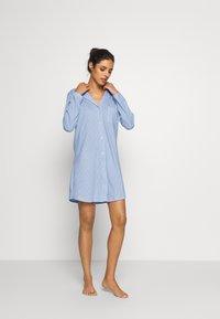 LASCANA - CLASSIC NIGHTDRESS - Noční košile - blau - 1