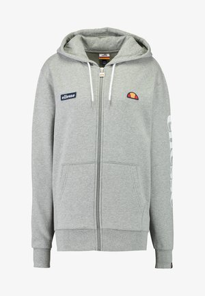 SERINATAS - Zip-up hoodie - grey