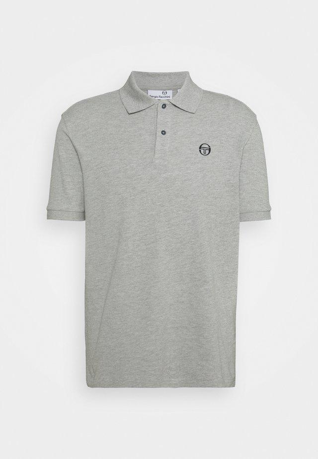 ADONE - Polo - heather grey