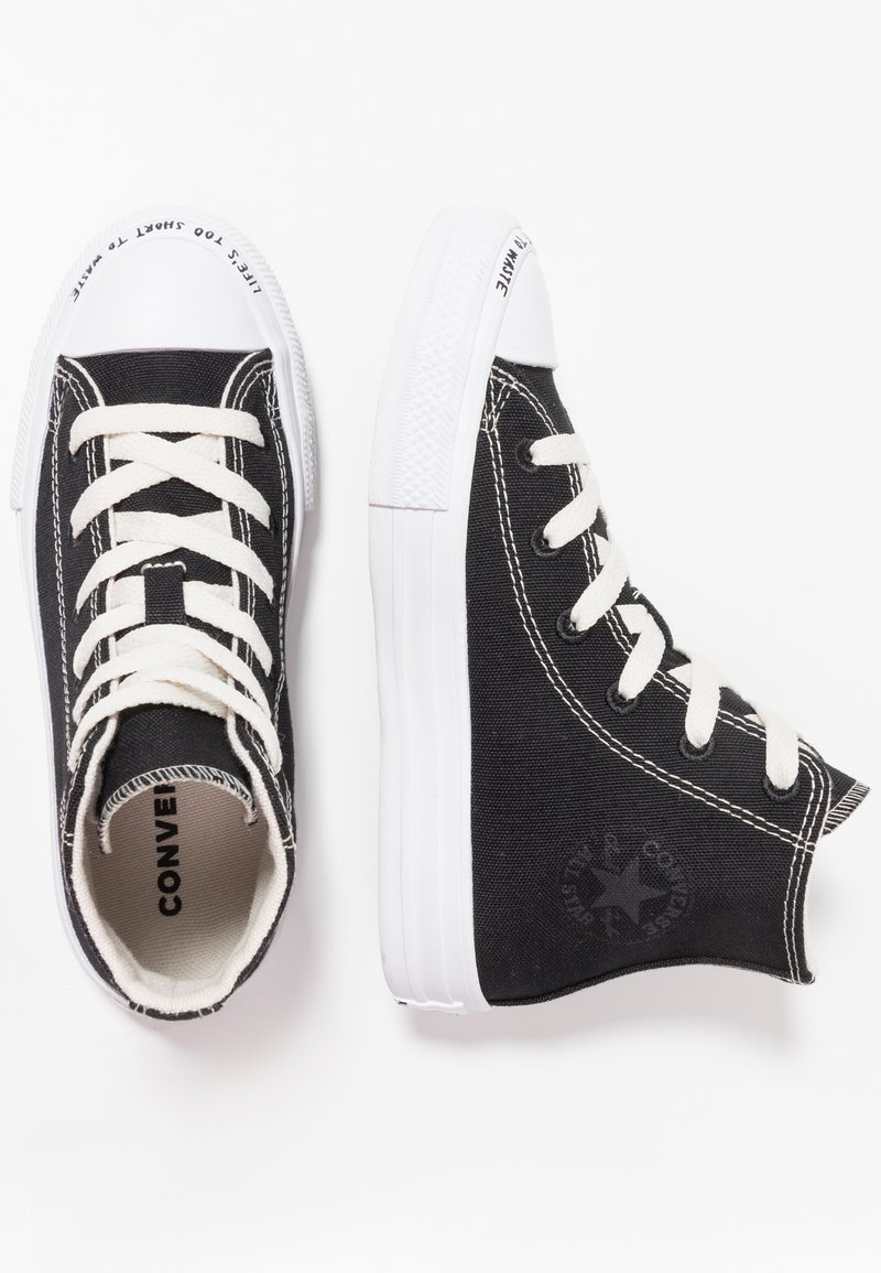 Converse - CHUCK TAYLOR ALL STAR RENEW - High-top trainers - black/natural/white