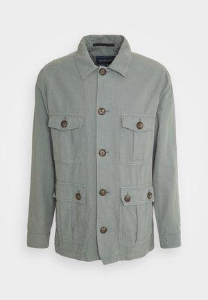 SAFARI JACKET - Summer jacket - blue-grey