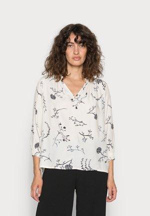 EVELYN FLORET BLOUSE - Long sleeved top - ecru