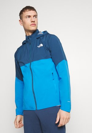 MENS VARUNA JACKET - Veste Hardshell - clear lake blue/blue teal