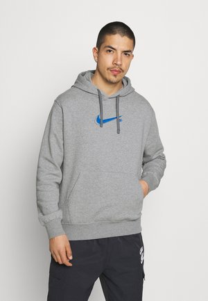 COURT HOODIE - Sweatshirt - grey heather