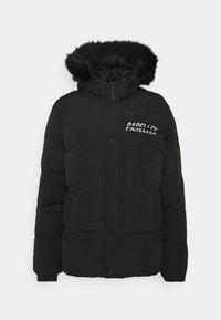 SHADOW BUBBLE - Winter jacket - black