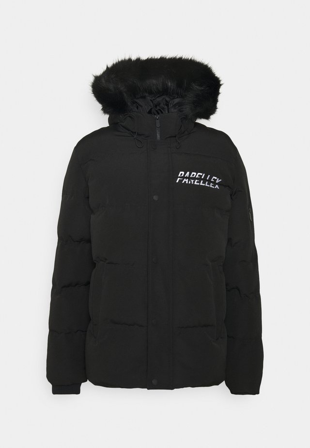 SHADOW BUBBLE - Winter jacket - black