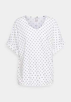 TEE - T-shirts med print - off white