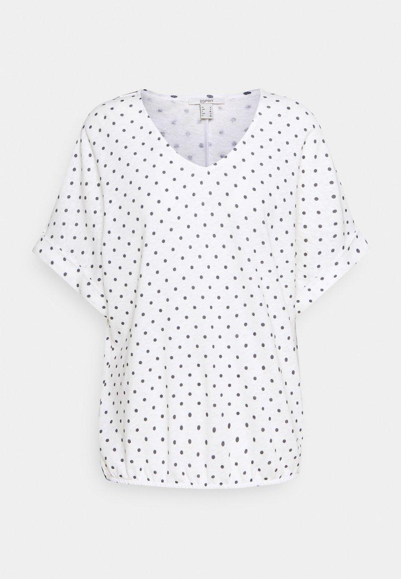 Esprit - TEE - Print T-shirt - off white