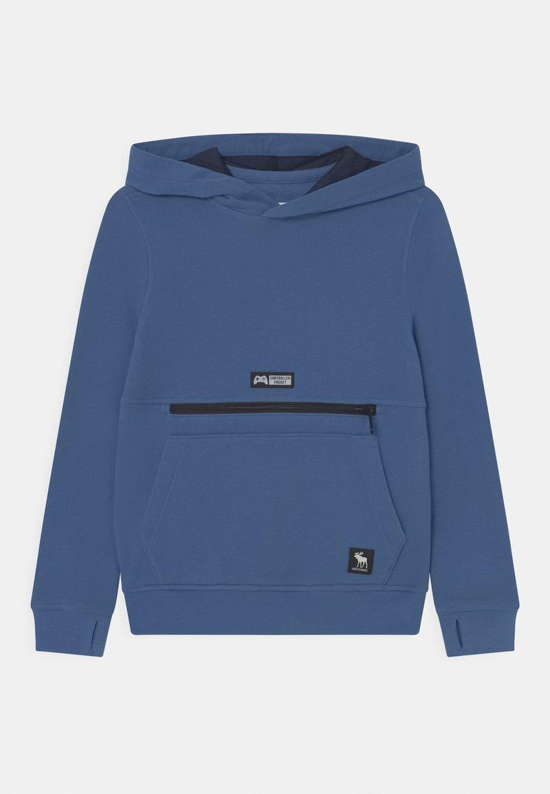 Abercrombie & Fitch - GAMING HOODIE - Sweatshirt - blue