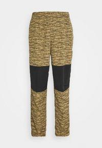 CLASS PANT - Trousers - tan/black