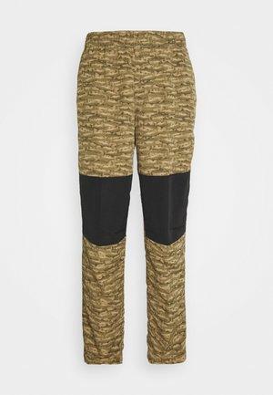 CLASS PANT - Kalhoty - tan/black