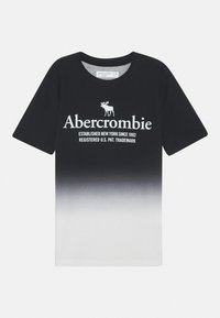 Abercrombie & Fitch - TEE ELEVATED - T-shirts print - black - 0