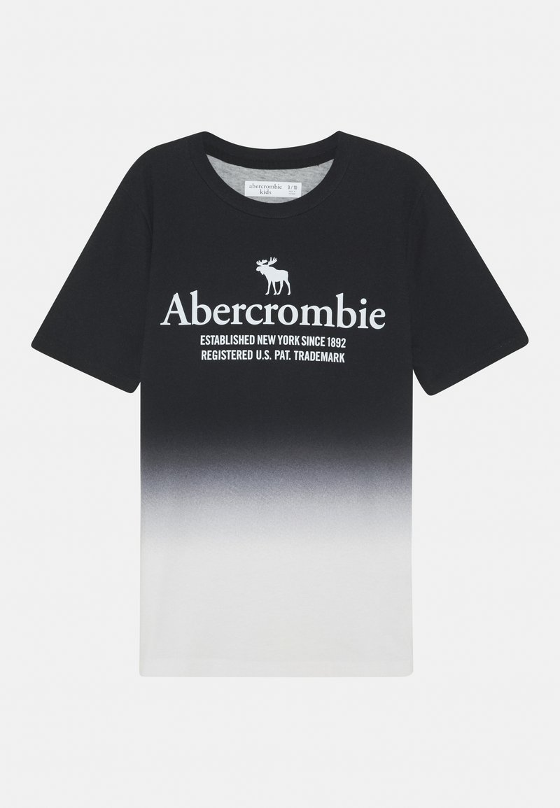 Abercrombie & Fitch - TEE ELEVATED - T-shirts print - black