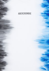 Abercrombie & Fitch - Print T-shirt - black/white/blue - 2