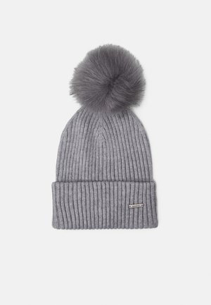 KENZIE BEANIE - Beanie - heather grey