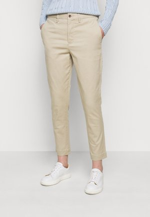 MODERN STRETCH - Trousers - coastal beige