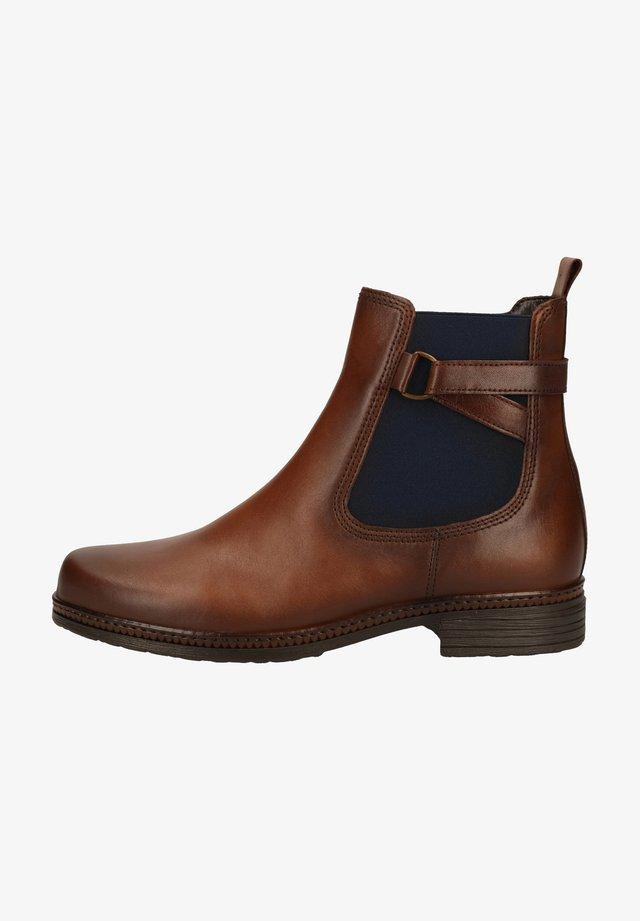 Ankle boots - sattel (blue) 36