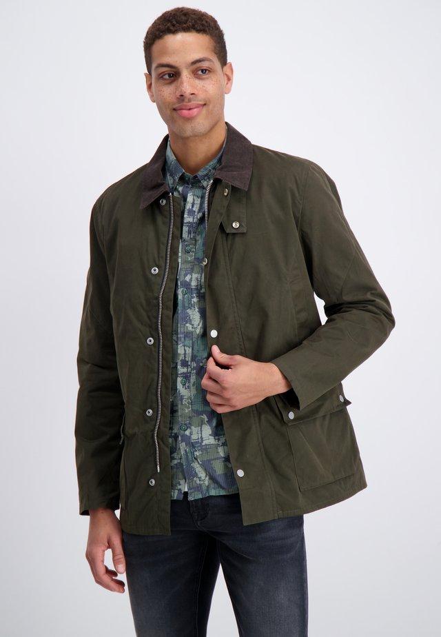 WAXED  - Summer jacket - dark green