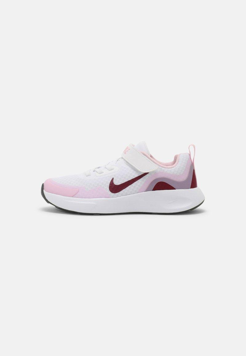 Nike Sportswear - WEARALLDAY UNISEX - Baskets basses - white/dark beetroot/pink(dark smoke grey