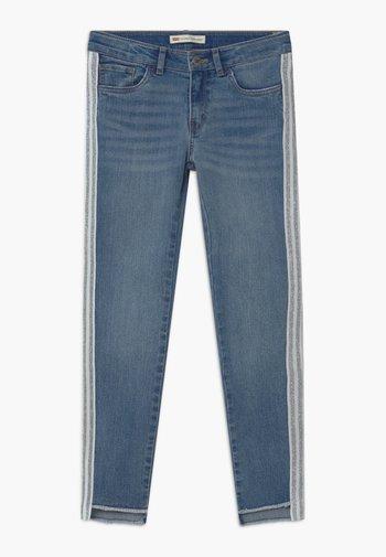 710 SKINNY ANKLE - Jeansy Skinny Fit - light-blue denim