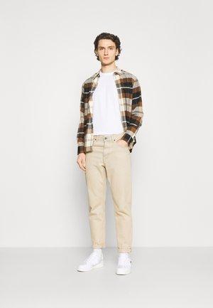 10 PACK  - T-shirt basic - black/white/light grey melange