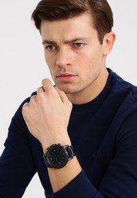 Fossil Smartwatches - NATE - Smartwatch - schwarz - 0