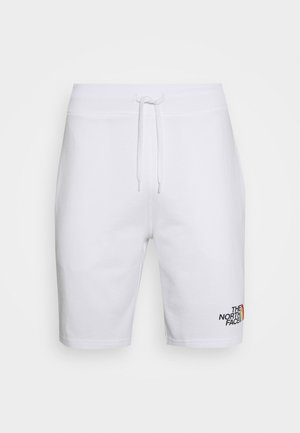 RAINBOW SHORT - kurze Sporthose - white