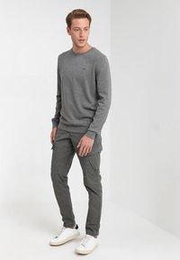 s.Oliver - LANGARM - Jumper - blend grey - 1