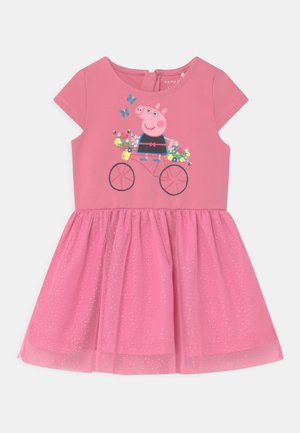 NMFPEPPAPIG MANDY  - Jersey dress - pink