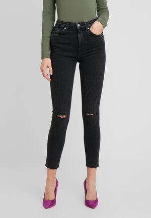 ZOEY HIGHWAIST - Skinny džíny - black/grey
