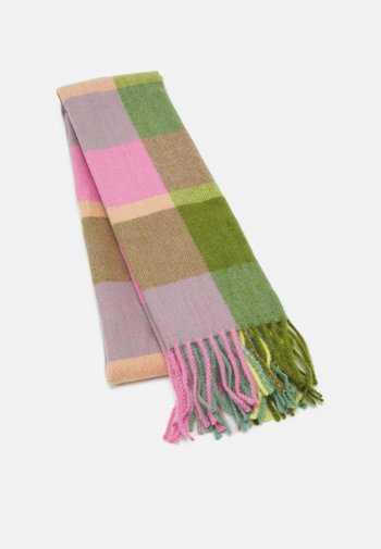 NEW OPP CHECK - Scarf - green mix