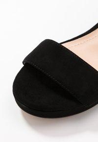 Coach - SERENA - Platform sandals - black - 2