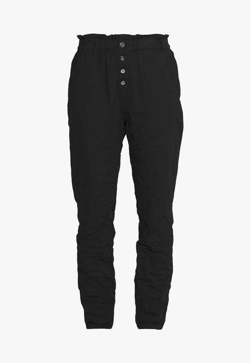 Q/S designed by - LANG - Pantalon classique - black