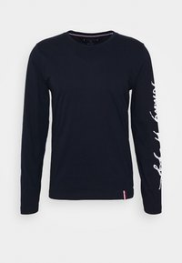 Tommy Hilfiger - SIGNATURE SLEEVE TEE - T-shirt à manches longues - blue - 4