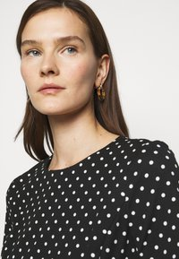 Lauren Ralph Lauren - PRINTED TECH DRESS - Day dress - black - 3