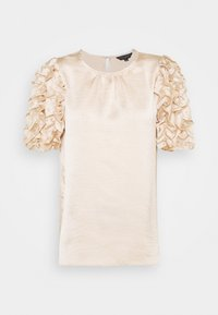 Dorothy Perkins - 3D SLEEVE TEE - Blouse - champagne - 5
