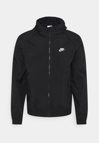 TRACK - Summer jacket - black/white