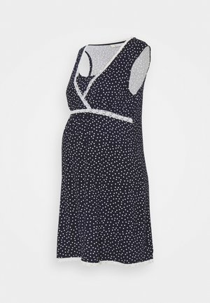 SPOT CAMISOLE NIGHTDRESS - Negligé - navy