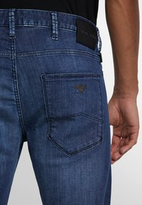 Emporio Armani - Slim fit jeans - blue denim - 3
