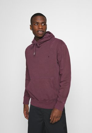 JJEWASHED HOOD - Sweat à capuche - port royale/relax/overdyed