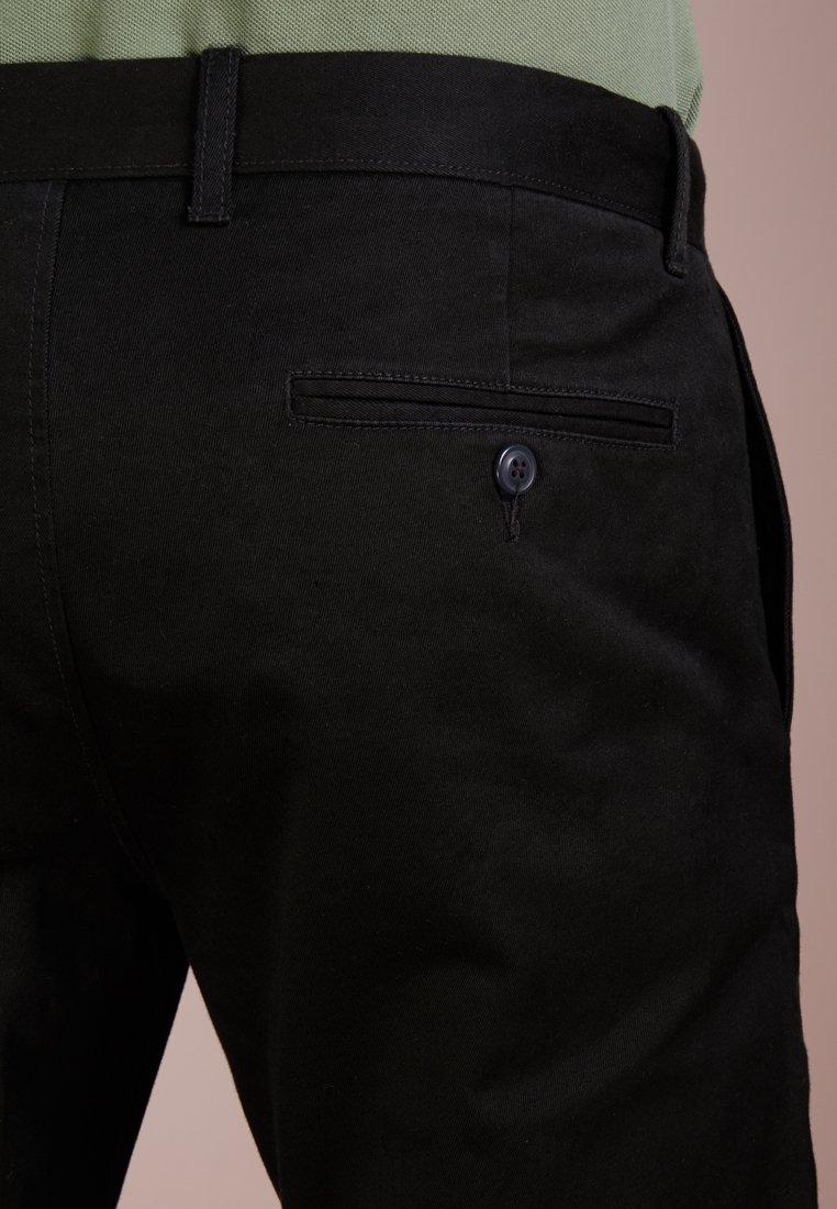 J.CREW MENS PANTS - Chinos - black