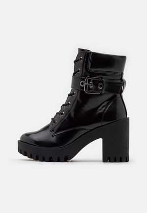 COCO - Lace-up ankle boots - black paris