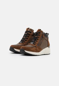 TOM TAILOR - High-top trainers - brown - 2