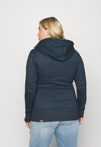 Ragwear Plus - NESKA ZIP - Zip-up sweatshirt - denim blue - 2