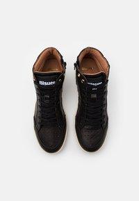 Blauer - MURRAY - Höga sneakers - black - 3