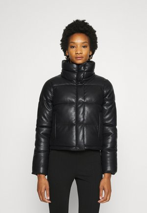 MINI PUFFER - Bombejakke - black