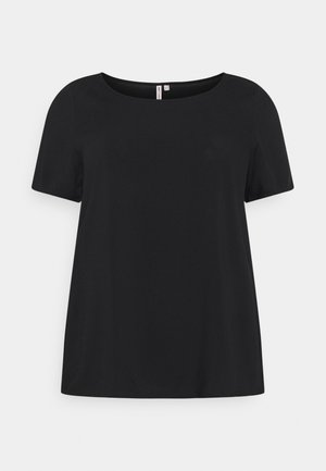 CARFIRSTLY LIFE - T-shirts med print - black