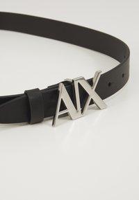 Armani Exchange - CINTURA - Cintura - black - 2