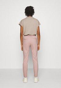 ONLY - ONLPOPTRASH LIFE STRIKE PANT - Trousers - pale mauve - 2