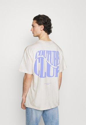 WAVE GRAPHIC  - Print T-shirt - cream